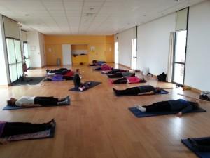 relax en fin de cours gym
