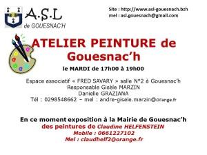 leaflets peintures
